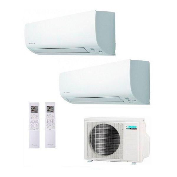 Aire acondicionado Multisplit 2x1 Inverter Daikin 2MXM50M + FTXM20M + FTXM25M (R32/WIFI INCLUIDO)